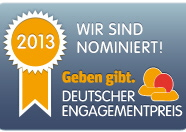 Deutscher Engagementpreis - Websticker_Nominiert-2013